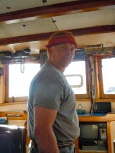 Captain Barry Day, of F/V Rosella, your source for fresh Dungeness crab